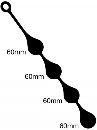 Anal Drops • 4 x 60mm