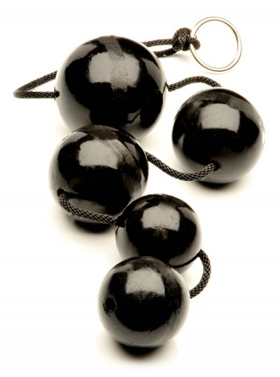 Fuck Balls • Black • 2 Small • 2 Medium • 1 Large