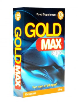 Gold Max Blue • 10 Capsules