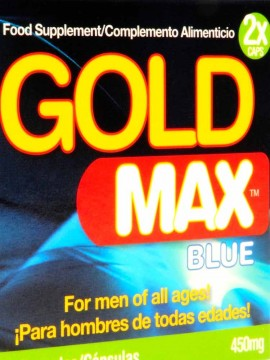 Gold Max Blue • 2 Capsules