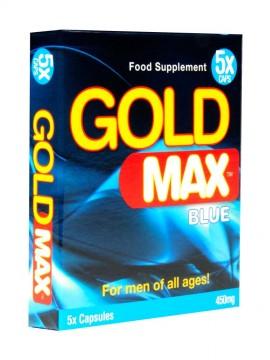 Gold Max Blue • 5 Capsules