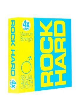 Rock Hard • 4 Capsules