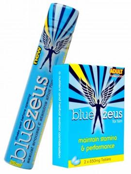 Blue Zeus • 2 Tablets + Liquid Shot