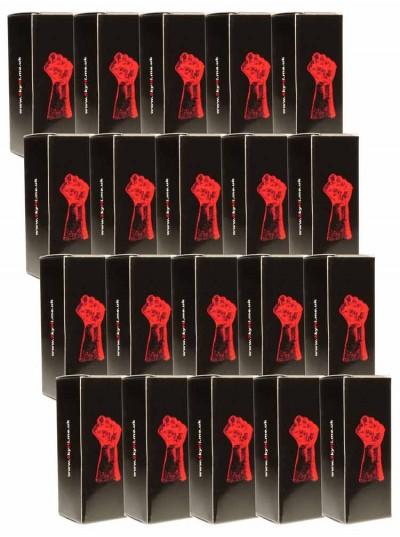 Fist Black Aroma • 20 x 25ml