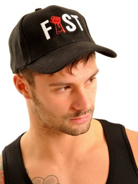 Fist Baseball Cap • Black