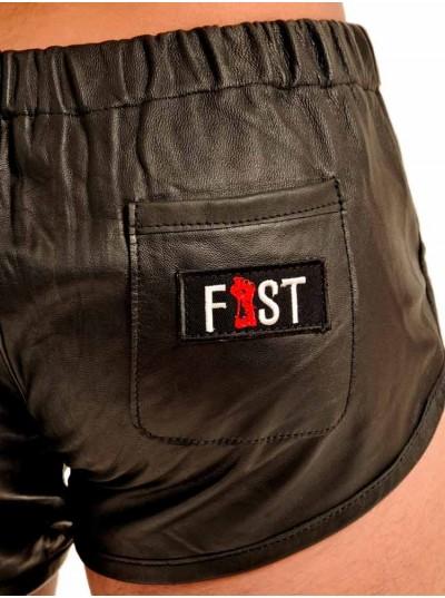 Fist Vintage Leather Shorts • Black