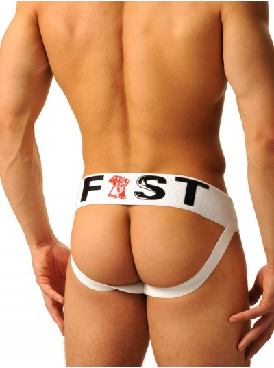 Fist Logo Jock • Black & White