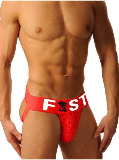 Fist Logo Jock • Red