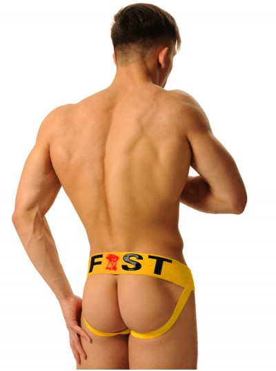 Fist Logo Jock • Yellow