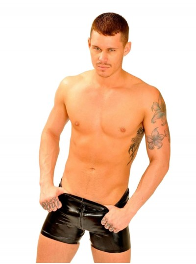 Fist Rubber Boxer Shorts • Thru Zip