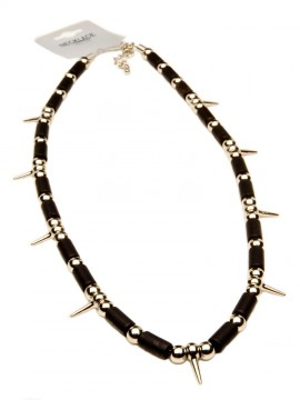 Punk Spikey Choker • Black