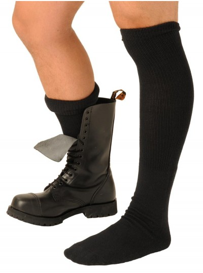 Fist Boot Socks • Black