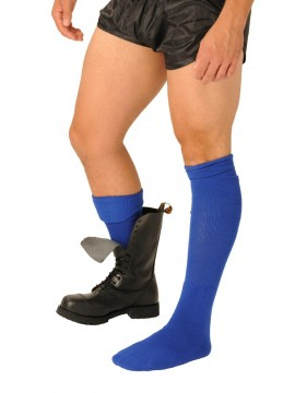 Fist Boot Socks • Blue