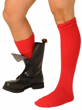 Fist Boot Socks • Red