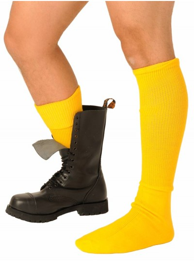 Fist Boot Socks • Yellow