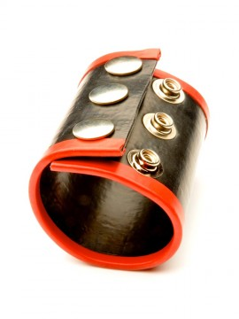 Large Rubber Ball Stretcher • Red