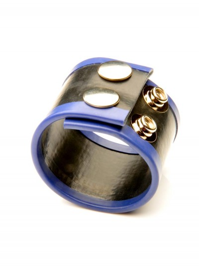 Small Rubber Ball Stretcher • Blue