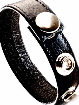 Leather Cock Strap • Black