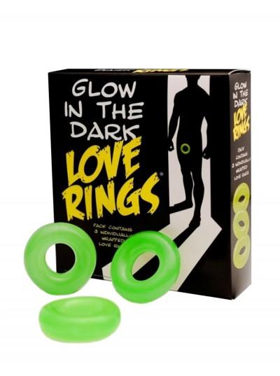 Glow In The Dark Rings • 3 Ring