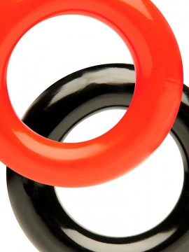 Stretch Ring • Red & Black