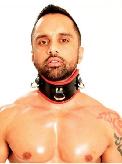 Fist Posture Collar • Black/Red