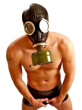 GP5 • Russian Gas Mask + Filter • Black