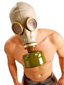 GP5 • Russian Gas Mask + Filter • Grey