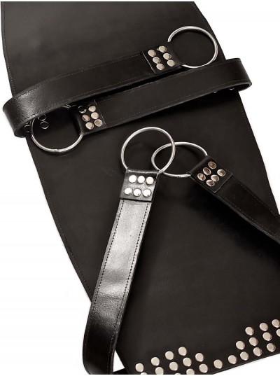 Leather Sling • Black
