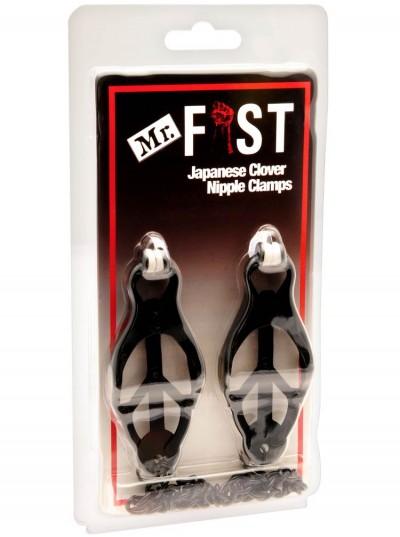 Mr Fist Nipple Clamps • Black