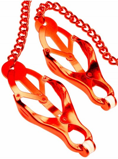 Mr Fist Nipple Clamps • Red