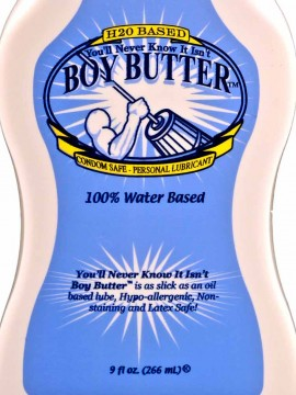 Boy Butter H2O • 9oz Squeeze