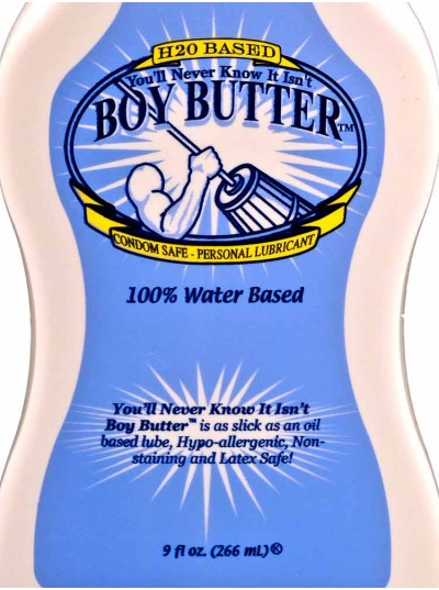 Boy Butter H2O Squeeze • 9oz