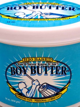 Boy Butter H2O Tub • 16oz