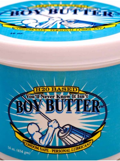 Boy Butter H2O Tub • 16oz