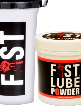 Fist Lube Powder + Shaker