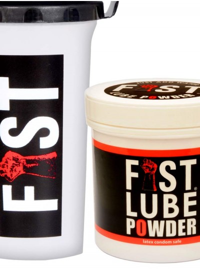 Fist Lube Powder + Shaker