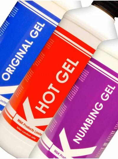 K Gel 3 Pack • Original + Hot + Numbing