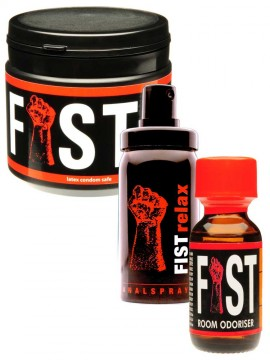 Fist Relax + Fist Aroma + Fist Lube