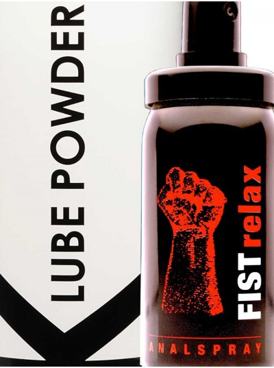 Fist Relax + K Lube Powder
