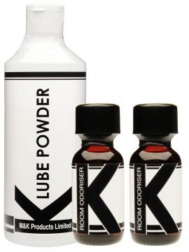K Lube Powder + 2 K Aromas