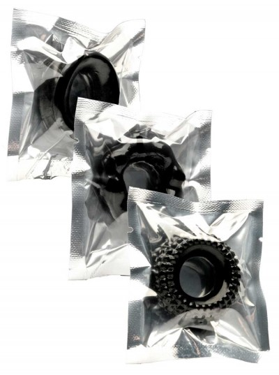 Mr Fist 3 Wheel Pack • Black
